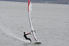 Steve Bodner 12.5 North Warp in 10mph wind - Lit : Steve Bodner warming up for day one Elvstrom Zellerbach.