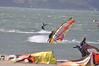 Crissy Field 25mph April 29th 2010 : Crissy Field Windsurfers San Francisco April 29th 2010