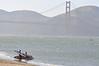 Tandem Windsurfing San Francisco 4-26-09 : Kona Tandem Windsurfing With Aerotechs